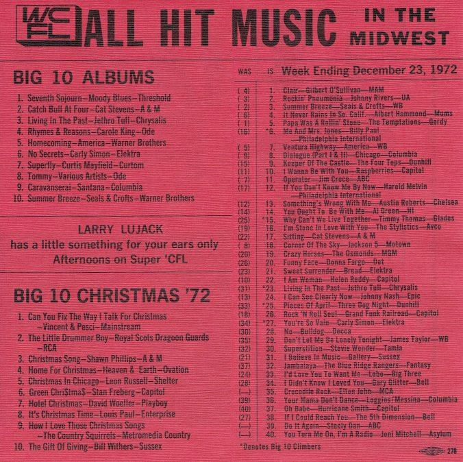 WCFL 12-23-1972
