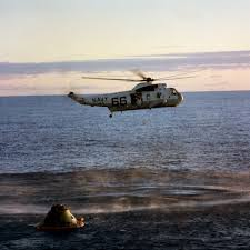 Apollo 10 splash