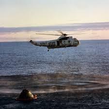 Apollo 10 splash